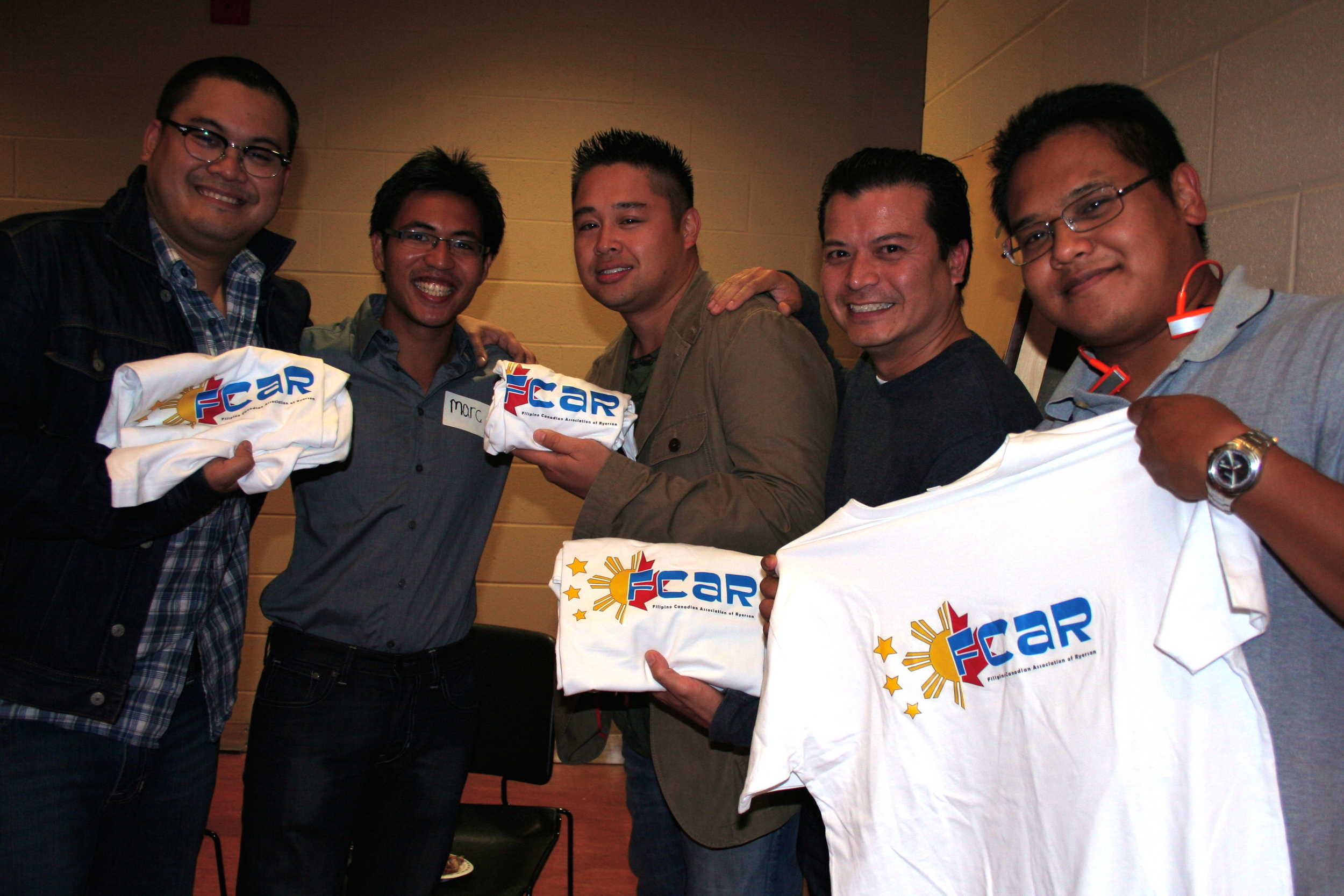 At FCAR Orientation 2009