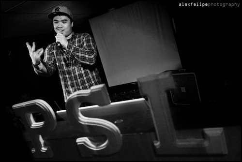 Patrick De Belen performing at last year's Nuit Brune. PHOTO: Alex Felipe