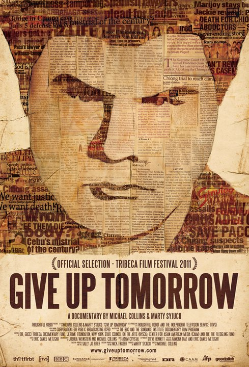 Poster for Give Up Tomorrow