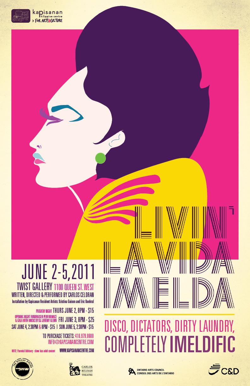 Livin' La Vida Imelda by Carlos Celdran