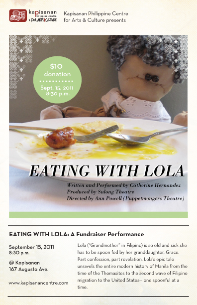 Eating with Lola