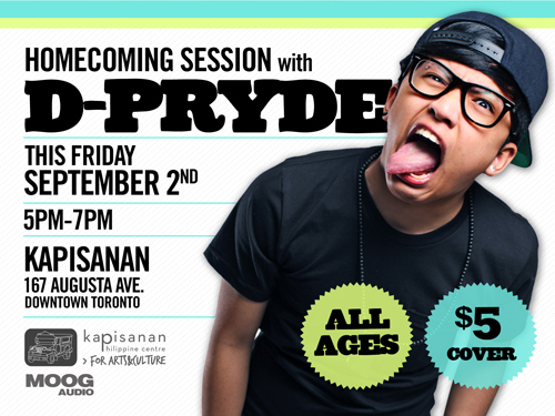 d-pryde homecoming session flyer