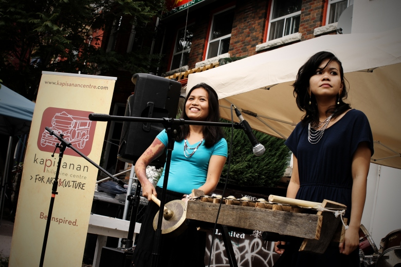Haniely Pableo and Christine Balmes at Kultura 2011