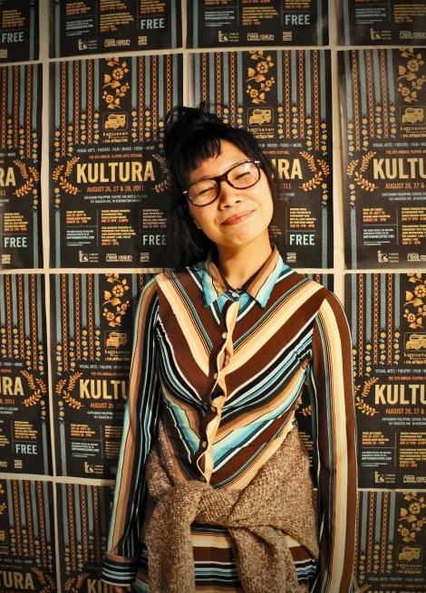 KULTURA Poster girl, Lyndl Aguilar
