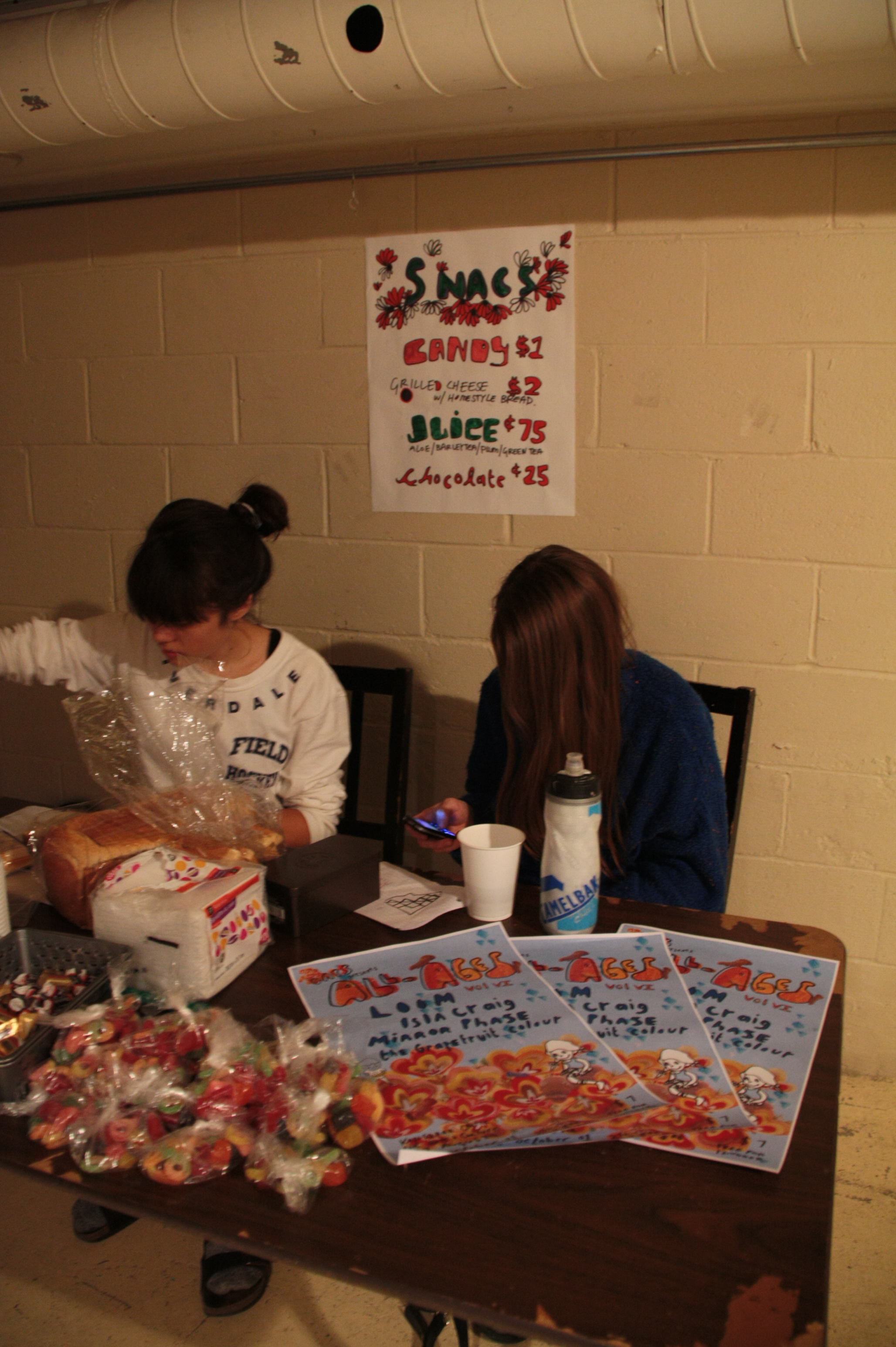 Snack bar at Daps All Ages