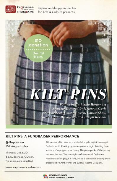 Kilt Pins by Catherine Hernandez