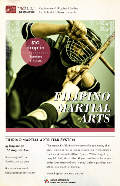 Filipino Martial Arts: ITAK System