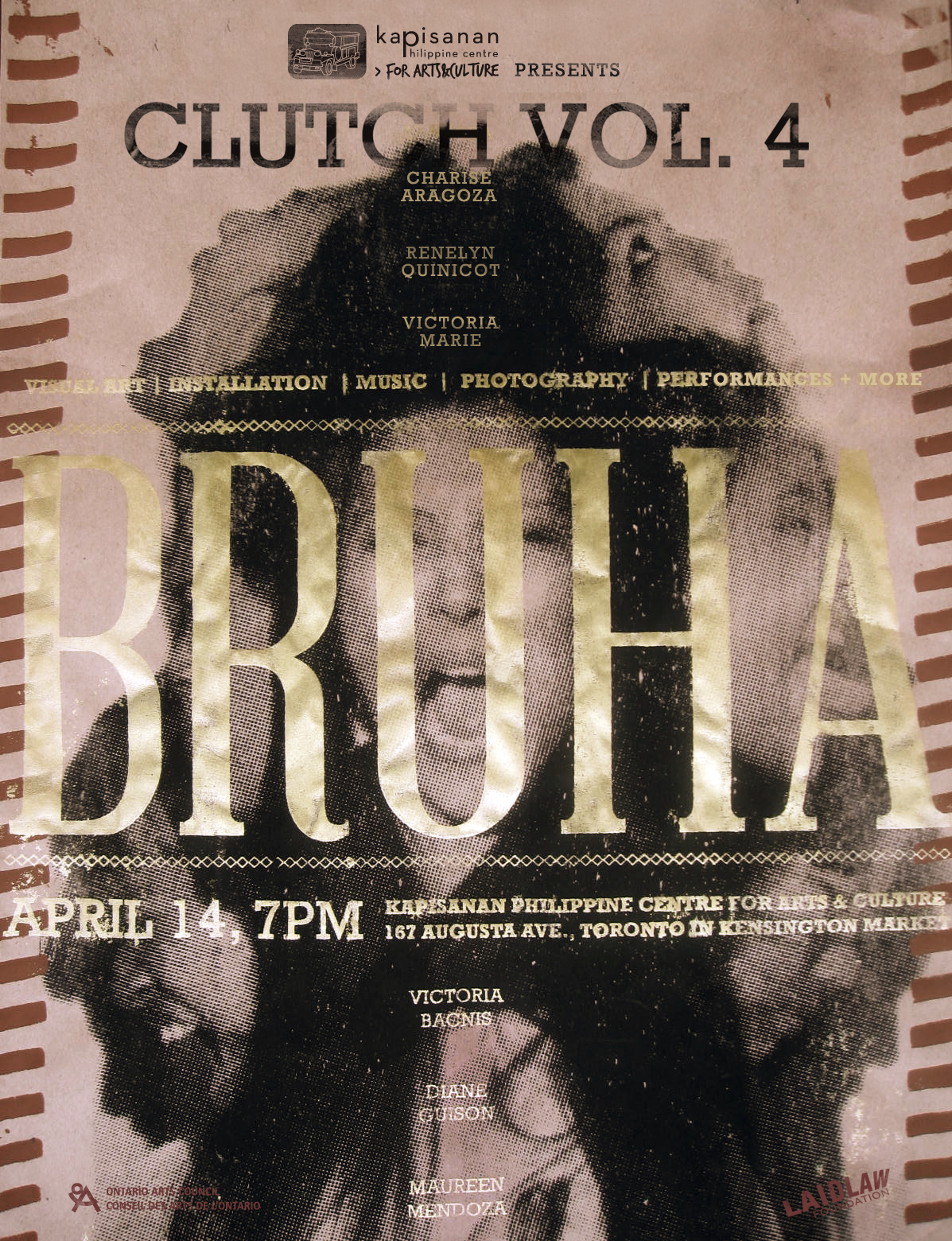 CLUTCH Vol. 4 presents : B R U H A