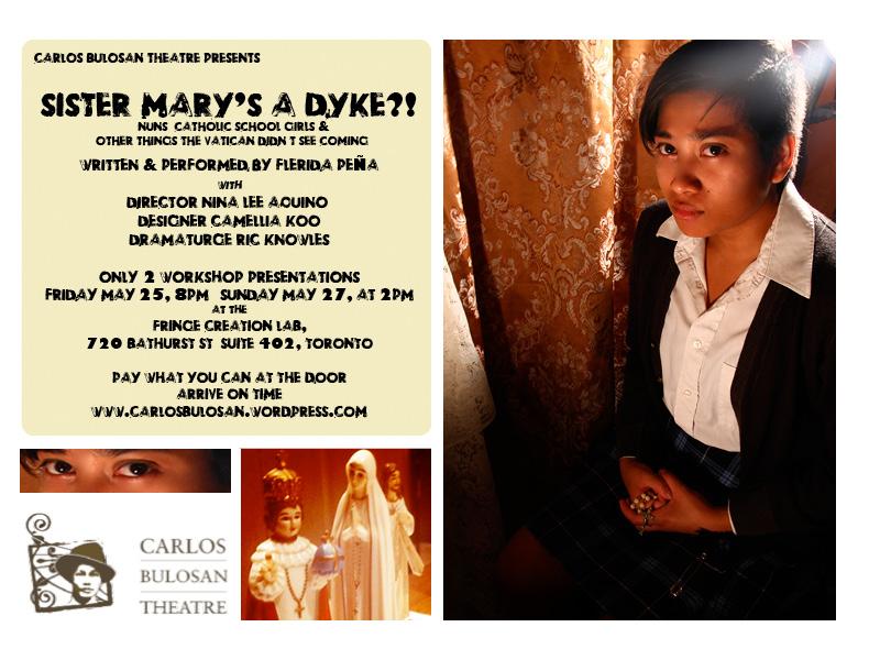 Sister Mary's A Dyke?! Eflyer