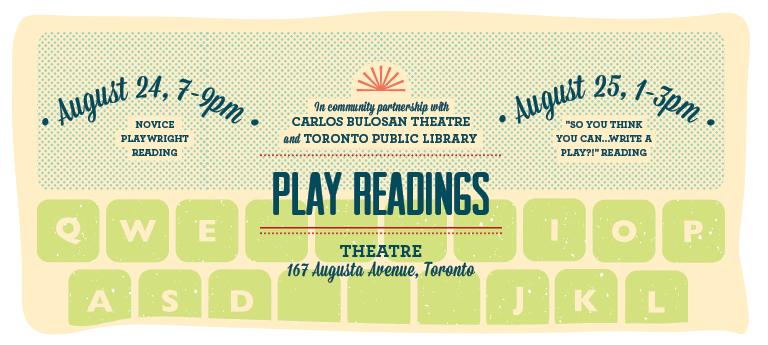 Kultura 2012 Theatre Program: Play readings