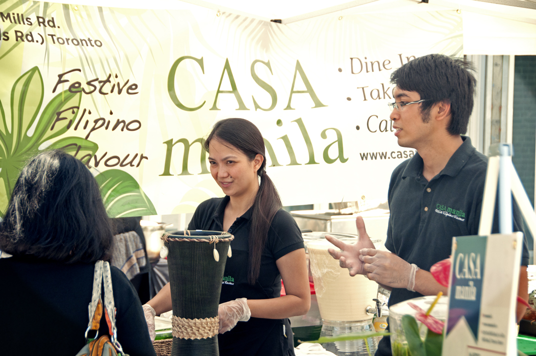 Casa Manila at the Adobo Masters Cook-off as part of Kultura 2012