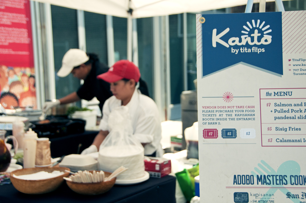 Kanto by Tita Flips, one of the participants for the Adobo Masters Cook-Off