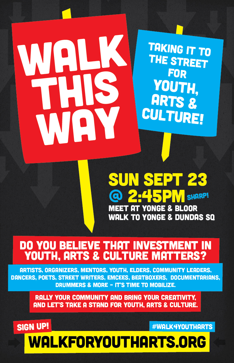 Walk for Youth Arts and Culture