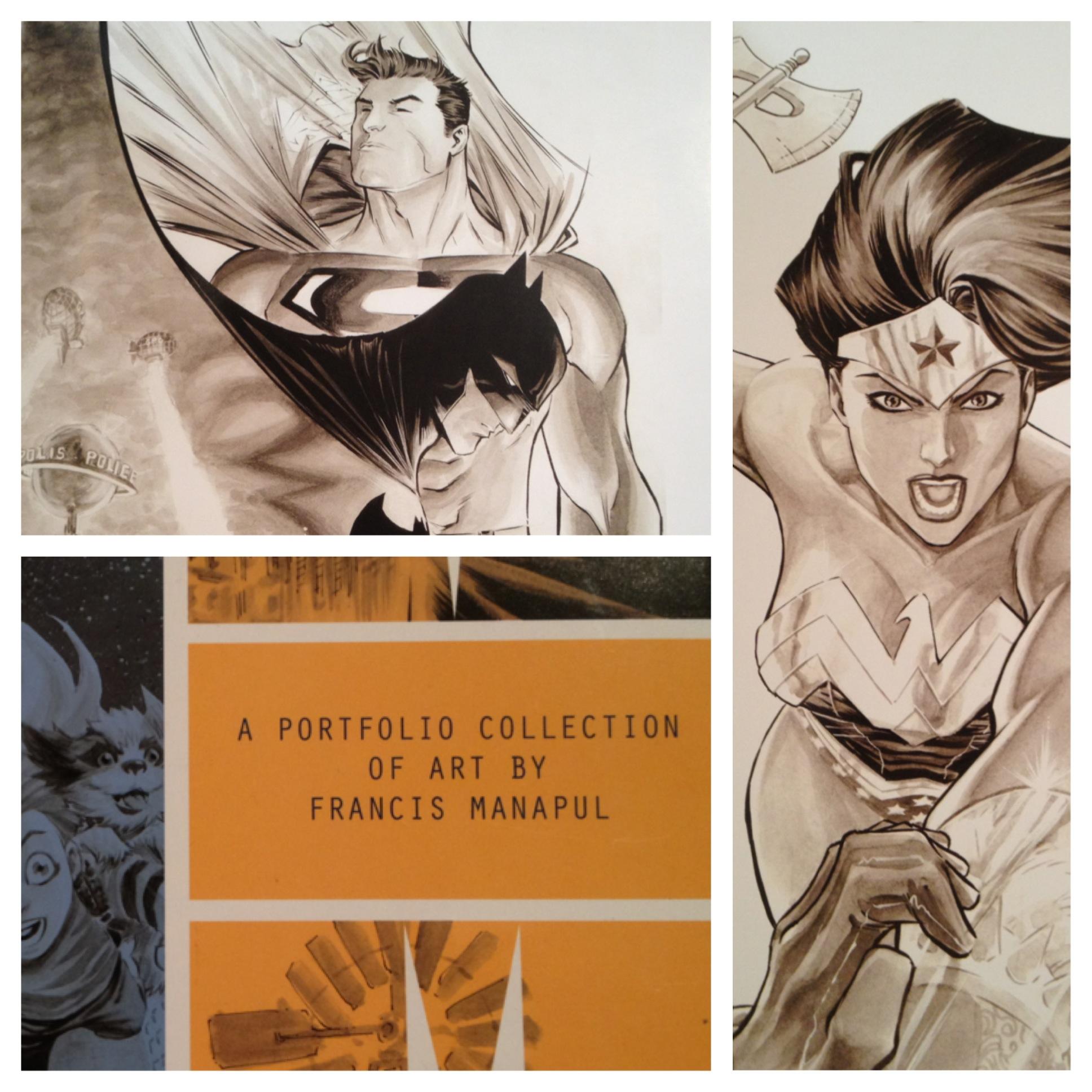 Manapul's Portfolio of Art