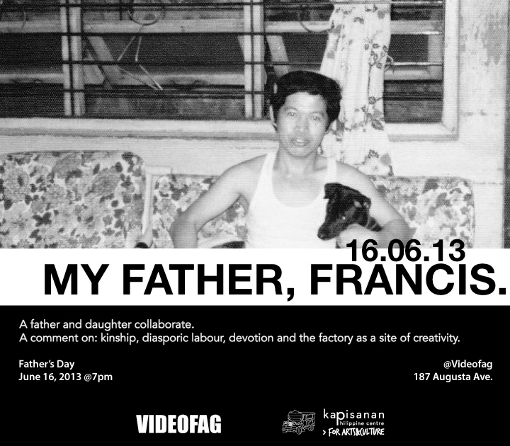 Poster for My Father, Francis
