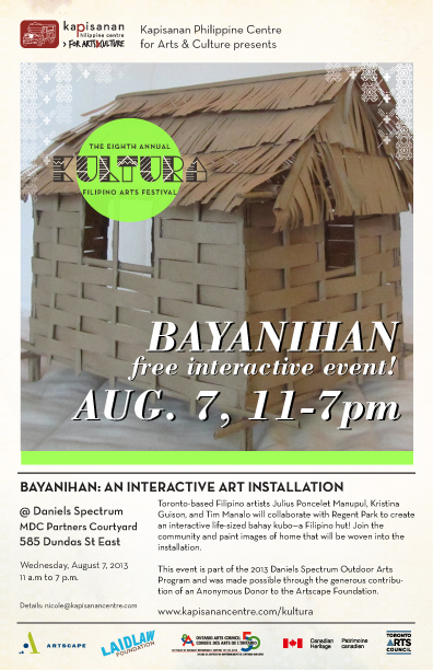 Bayanihan v3 Interactive Art Installation