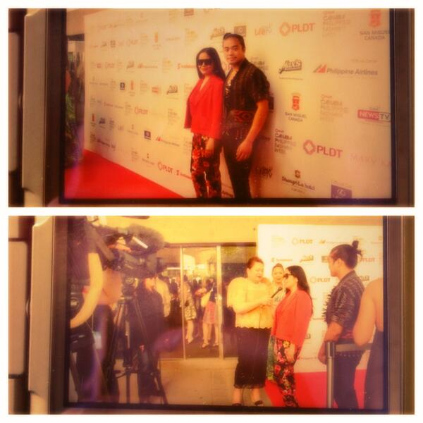 Red carpet at CPFW Gala on June 14