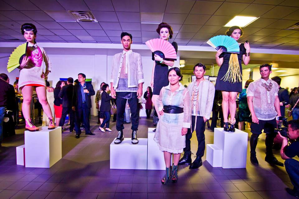 The Vinta Filipino Clothing Line, with designer Caroline Mangosing. Photo by D.Fundano Photography