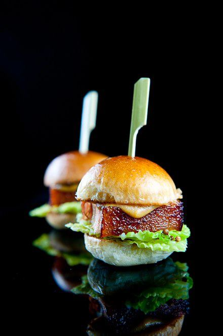 Kenneth Envidia - Chicharon pork belly slider