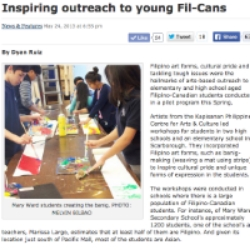 Inspiring outreach to young Fil-Cans
