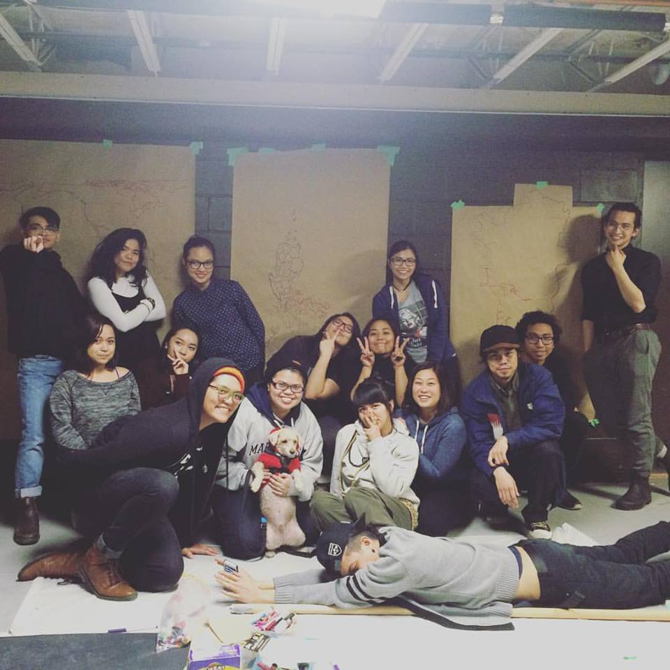 From  Instagram : CLUTCH x NAV. We mapped our bodies, stories, and explored our roots that span the Pacific ocean. #FilipinxYouth #filipino #pinay #the6ix #Toronto #arts #identity