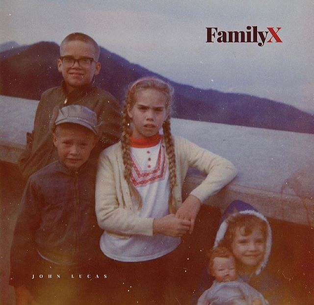 Family X is the newest EP by @johnlucask , and it's available today on iTunes and Spotify (and probably everywhere else you get your tunes). Check it out today! #familyxalbum #johnlucasmusic