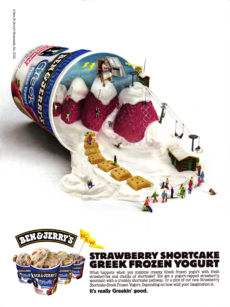 ©2012 Ben & Jerry's Homemade (Silver + Partners/NYC)