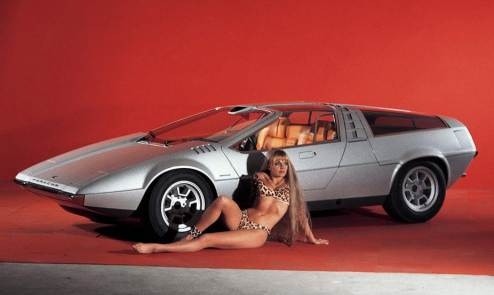 1970 Porsche Tapiro Concept - Retro Gallery Archive (Widescreen Ratio)