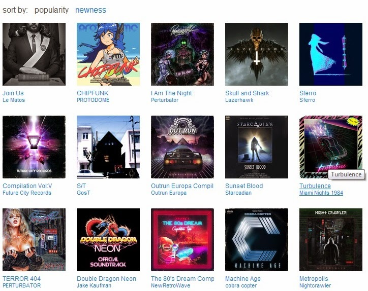 1000w - LE MATOS BREAKS INTO THE NUMBER 1 SPOT IN THE BANDCAMP 80S CHARTS!!