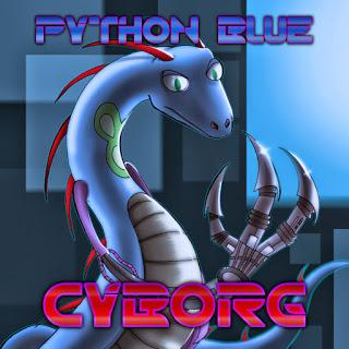 1000w - PYTHON BLUE IS A CYBORG!!