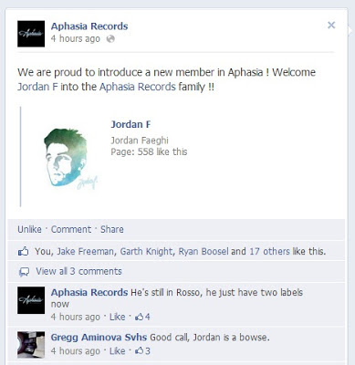 1000w - JORDAN F OFFICIALLY SIGNS TO APHASIA RECORDS!
