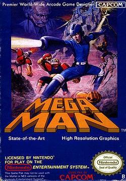 1000w - Retro Gaming - Mega Man