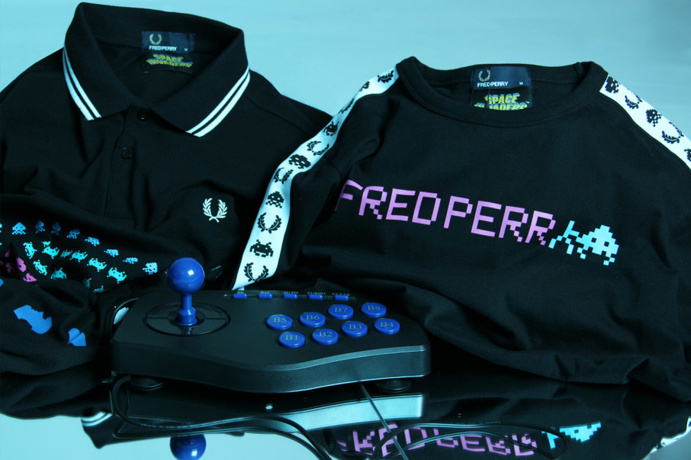 z5 - Fred Perry x Space Invaders