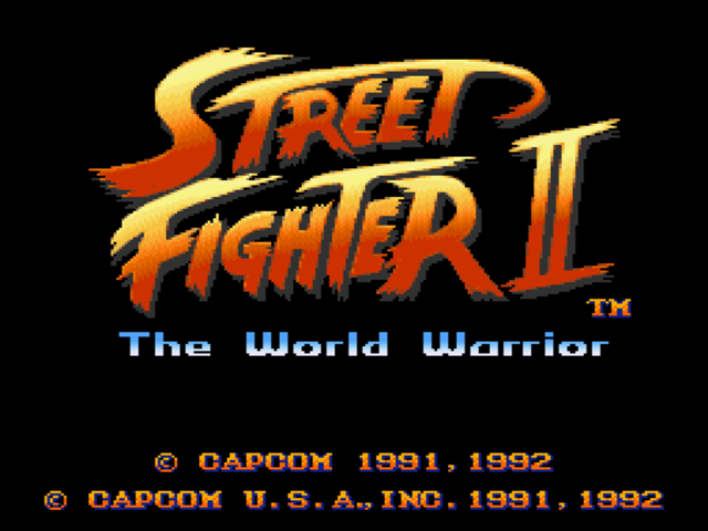 img - Street Fighter II: The World Warrior (Capcom, 1991)