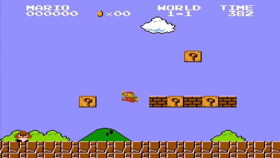 screenshot - Super Mario Bros. (NES/Famicom, 1985)