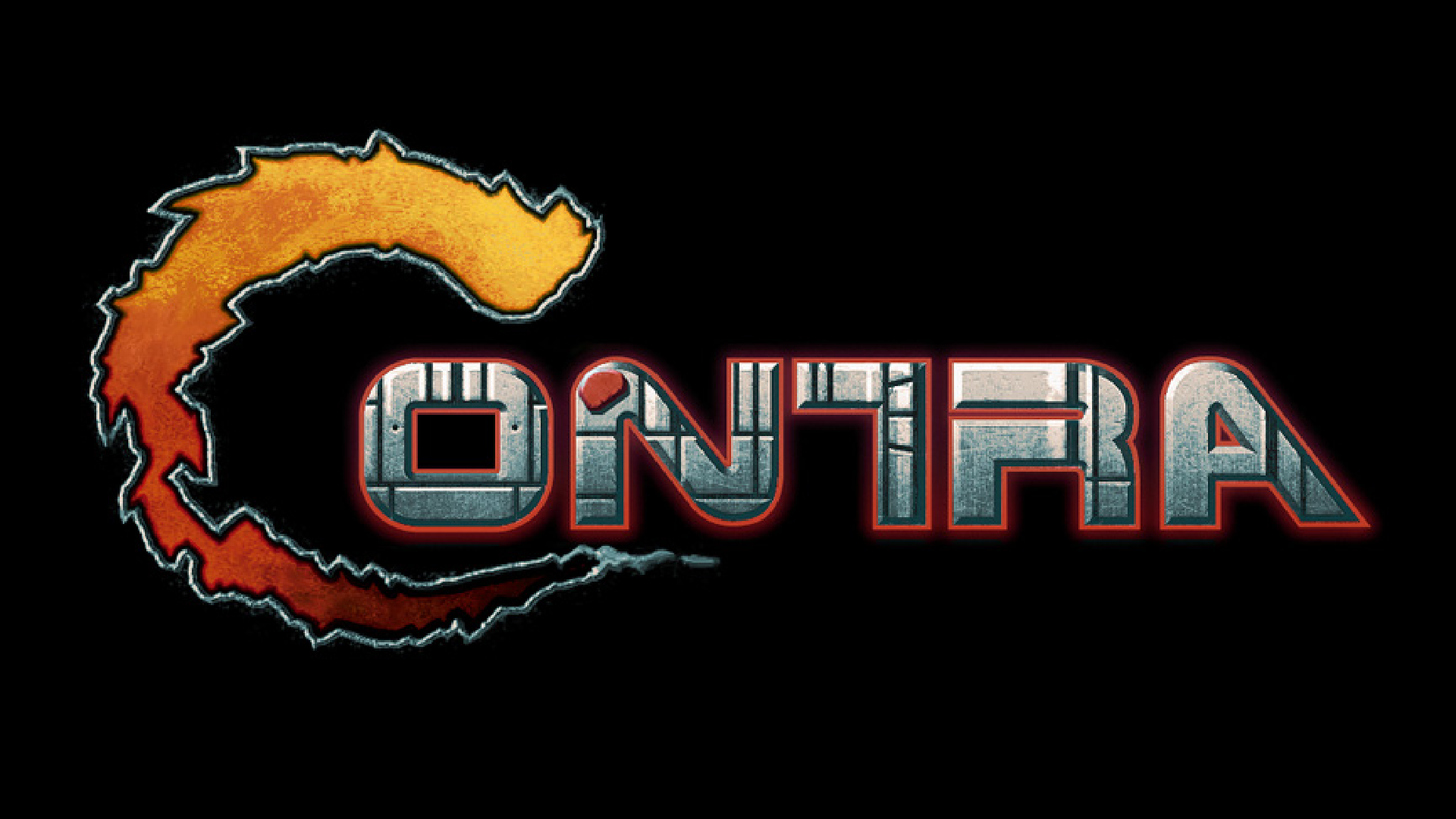 logo - Contra (Konami, 1987)