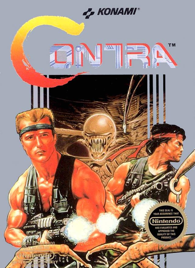 cartboxart - Contra (Konami, 1987)