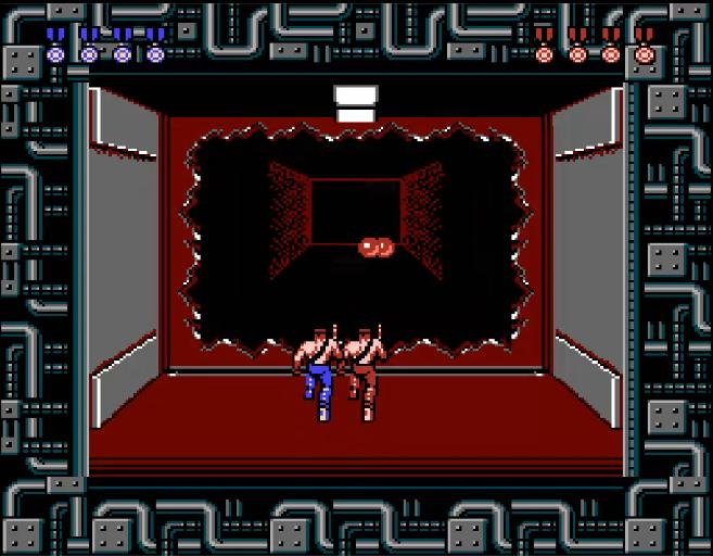 base - Contra (Konami, 1987)