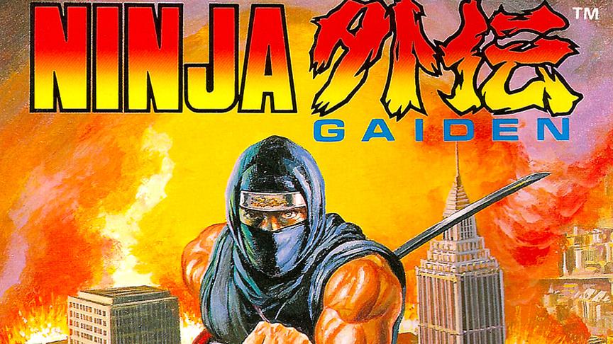 header - Ninja Gaiden (Tecmo, 1988)