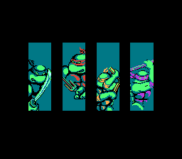 Leonardo, Raphael, Michelangelo, and Donatello.