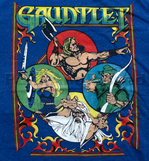 The game was huge in the 80s. It even had t shirts!