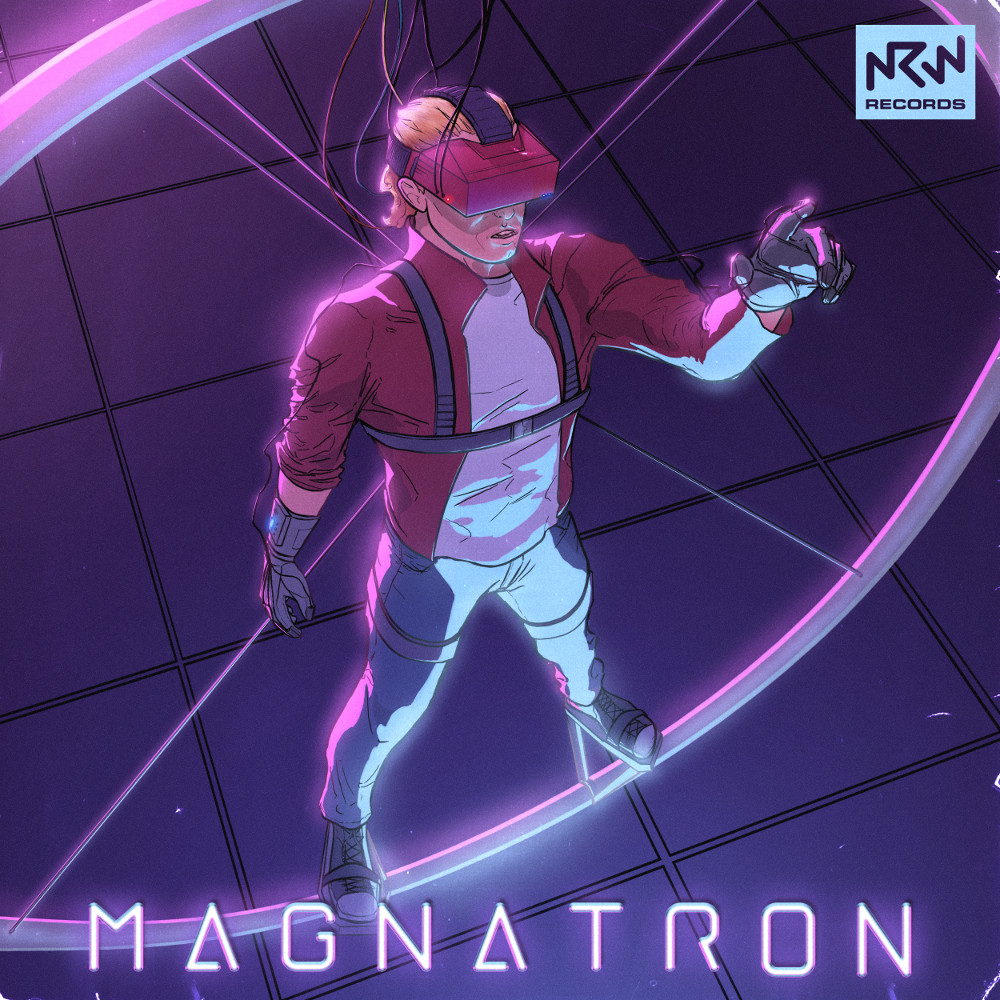 Magnatron Album Cover - NRW Records