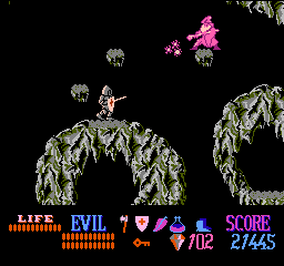 screen2 - Wizards & Warriors (Rare Ltd., 1987)