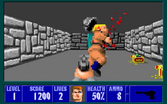 screen2 - Wolfenstein 3D (id Software, 1992)