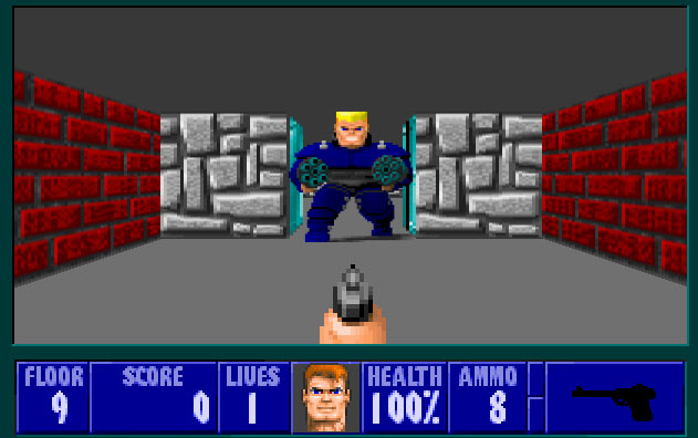 screen3 hans - Wolfenstein 3D (id Software, 1992)