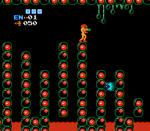 weird - Metroid (Nintendo, 1986)