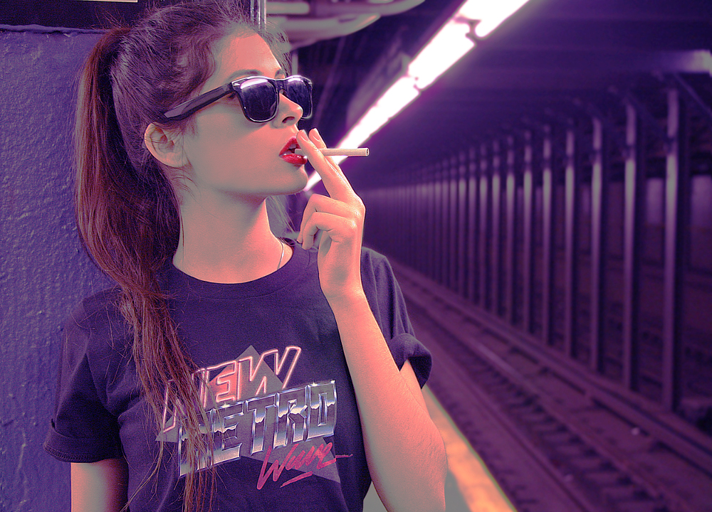 """Veronica Ruiz-Rivera"" Instagram: @vero.rui rOCKS IN nrw tEE IN bLACK"