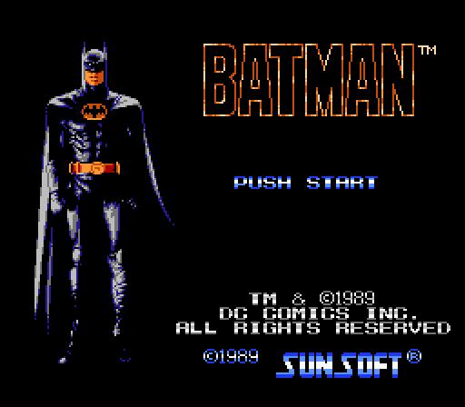 img - Batman: The Video Game (Sunsoft, 1989)
