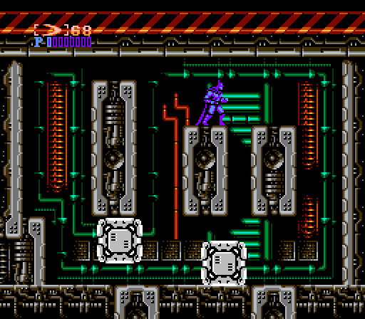 lab+boss - Batman: The Video Game (Sunsoft, 1989)