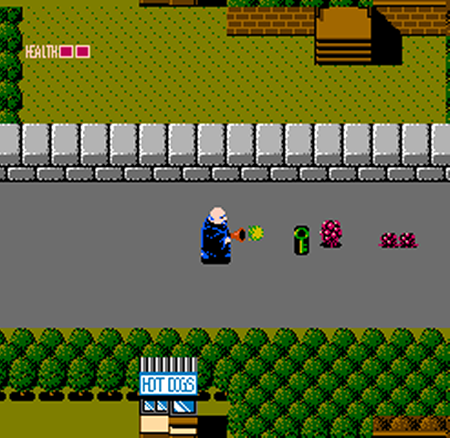 screen1 - Fester's Quest (Sunsoft, 1989)